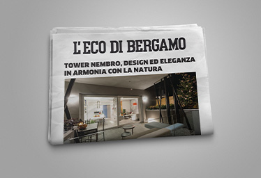 Tower Nembro su Eco di Bergamo